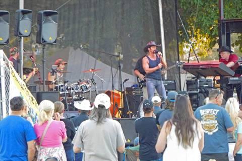 Robin Hebrock/Pahrump Valley Times The Pahrump Music Festival took place June 3 through June 6 ...