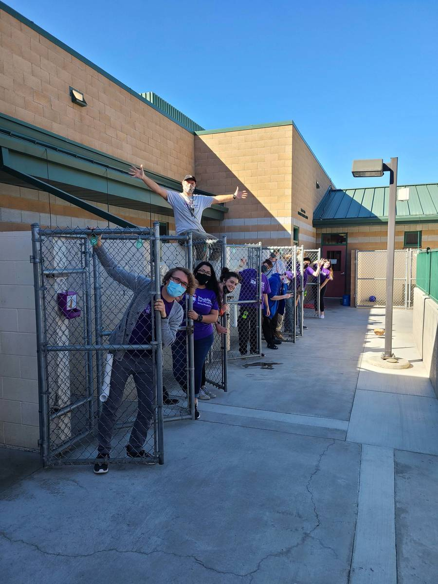Special to the Pahrump Valley Times Maddie's Pet Adoption Days partnered with 44 organizatio ...