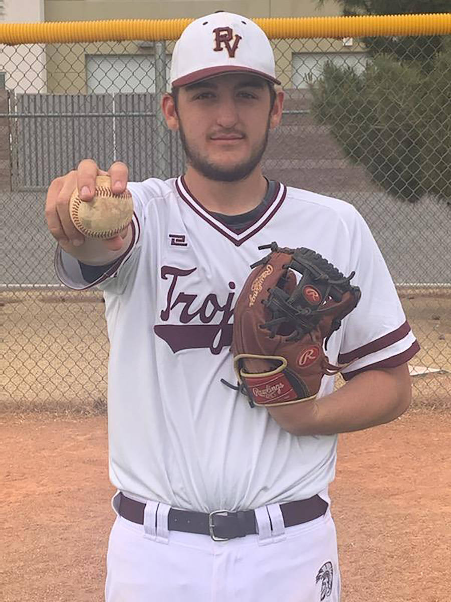 Special to the Pahrump Valley Times Pahrump Valley High School graduate Jake Riding will contin ...