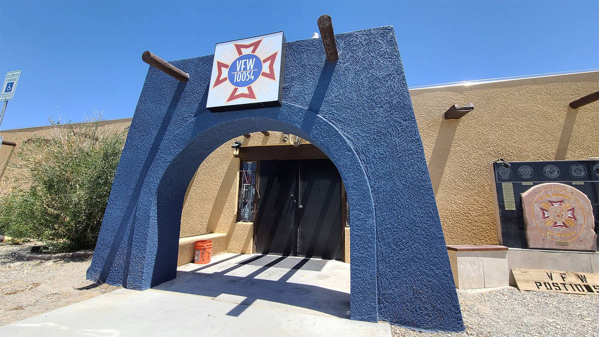Special to the Pahrump Valley Times Located at 4651 S. Homestead Rd., Pahrump's VFW Post 10054 ...