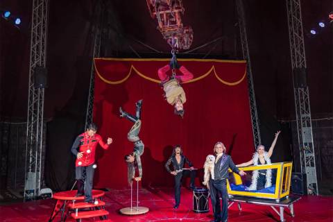 Special to the Pahrump Valley Times Cirque Legacy was born out of the multi-generational tradit ...
