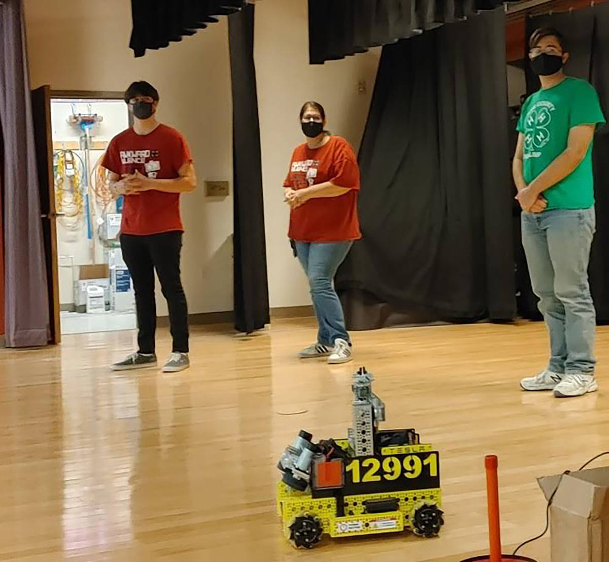 Stormy Ingersoll/Special to the Pahrump Valley Times The 4-H Robotics team Awkward Silence won ...