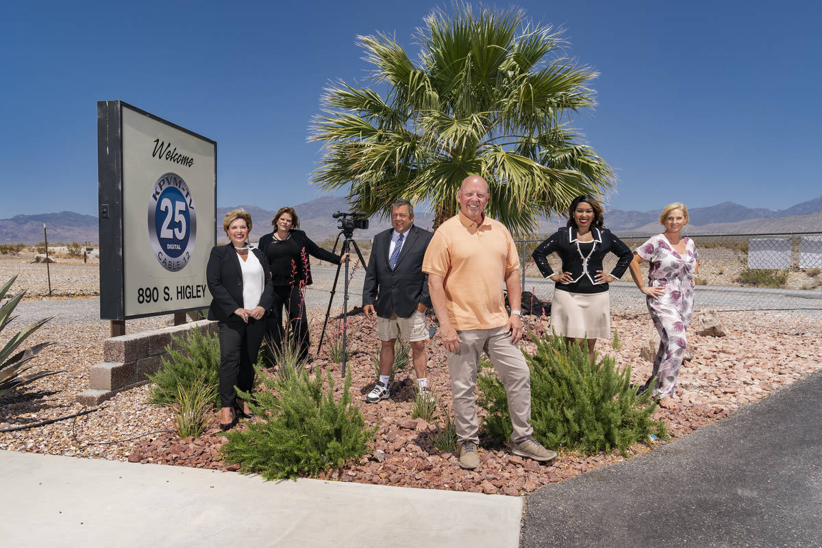 Gilles Mingasson/HBO The owners and on-air talent of a Pahrump TV station are headed to HBO in ...