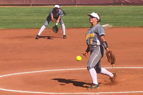 File photo Senior Ally Rily was named pitcher of the year and won the players choice award duri ...