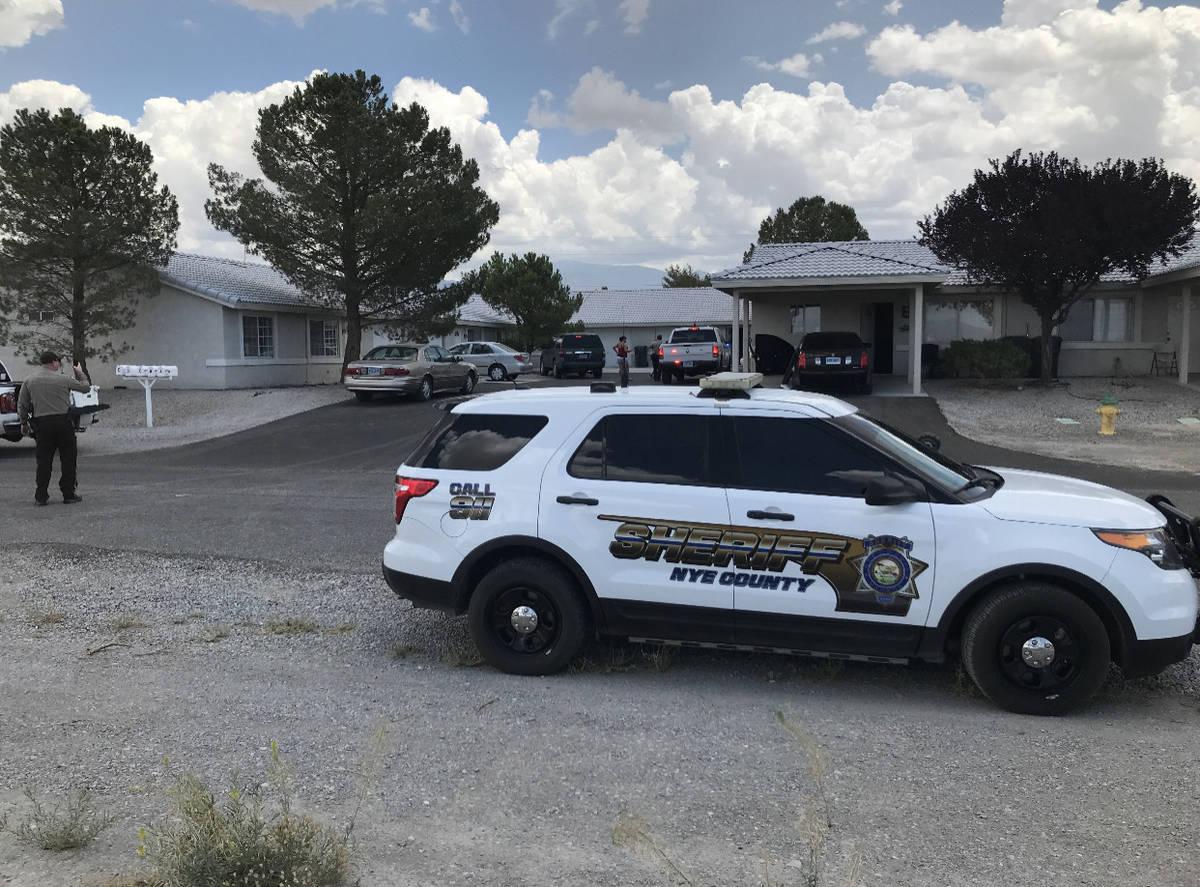 Nye County Sheriff's Office screenshot