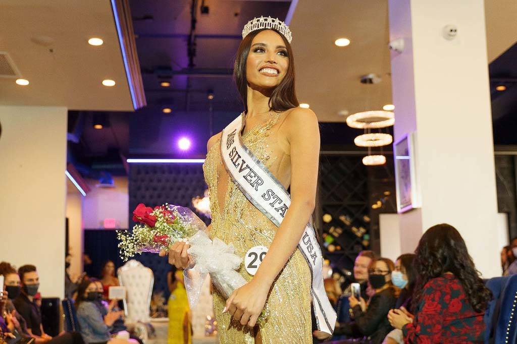 Kataluna Enriquez is the first transgender woman to win the title of Miss Nevada USA. (Miss Sil ...