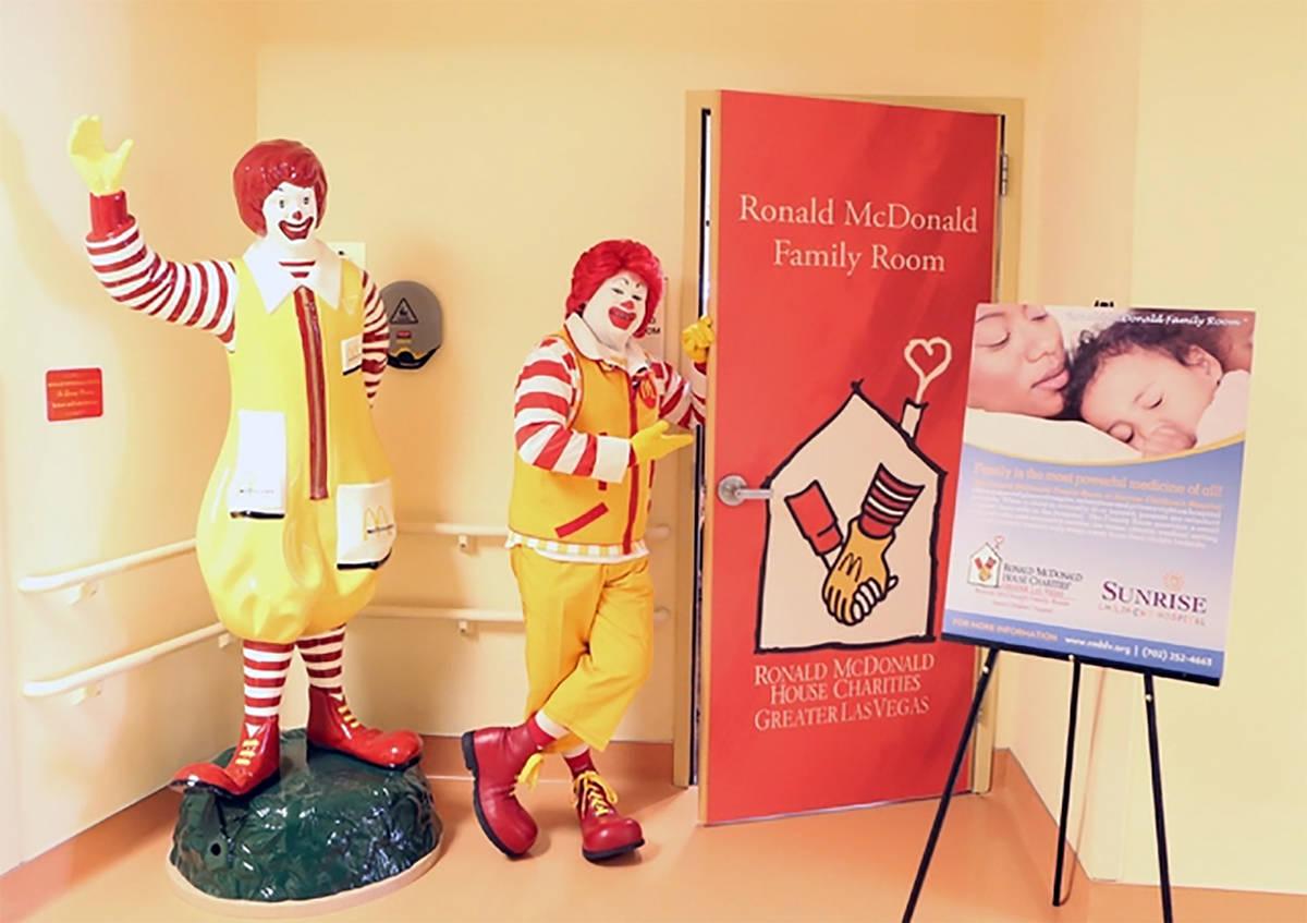 Bizuayehu Tesfaye/Las Vegas Review Journal A recent fundraiser in support of the Ronald McDonal ...