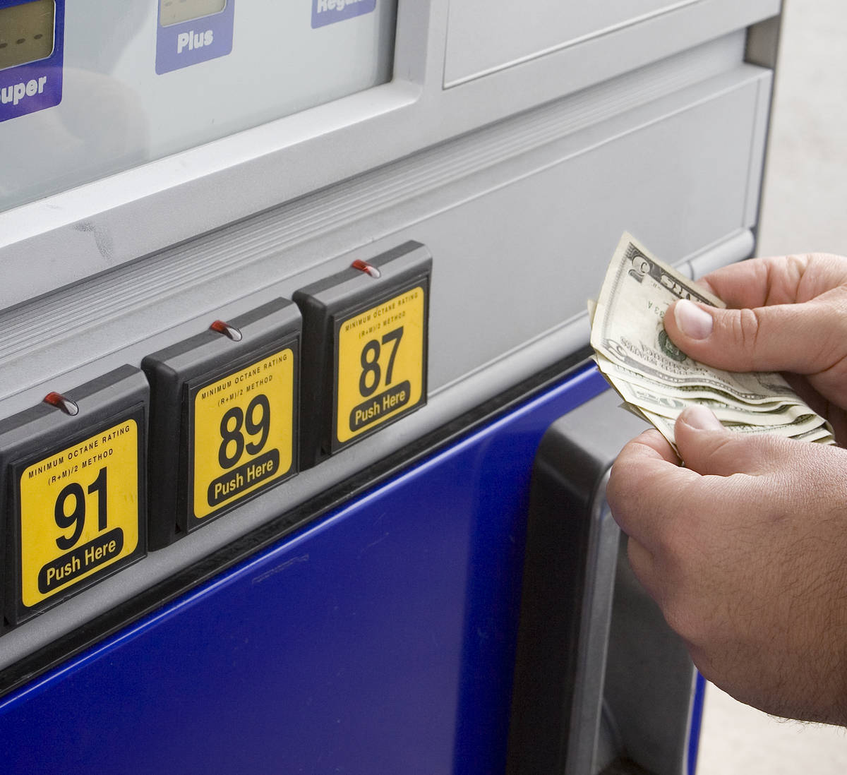 Getty Images Nevada experienced the fourth largest weekly decrease in the price of gasoline th ...