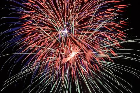 Richard Stephens/Special to the Pahrump Valley Times The town of Beatty will host a fireworks s ...