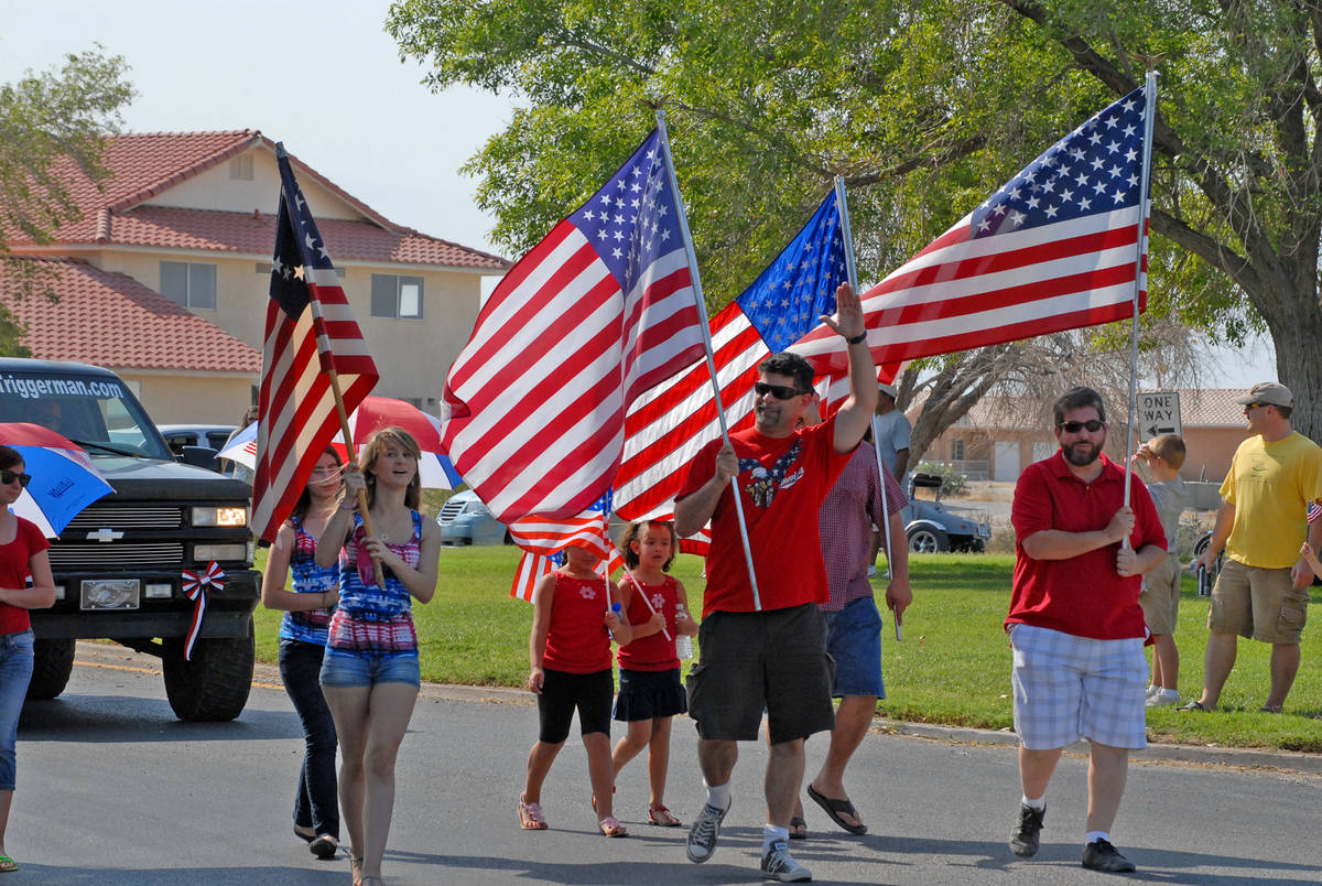 Horace Langford Jr/ Pahrump Valley Times The annual Fourth of July Parade will have a plethora ...
