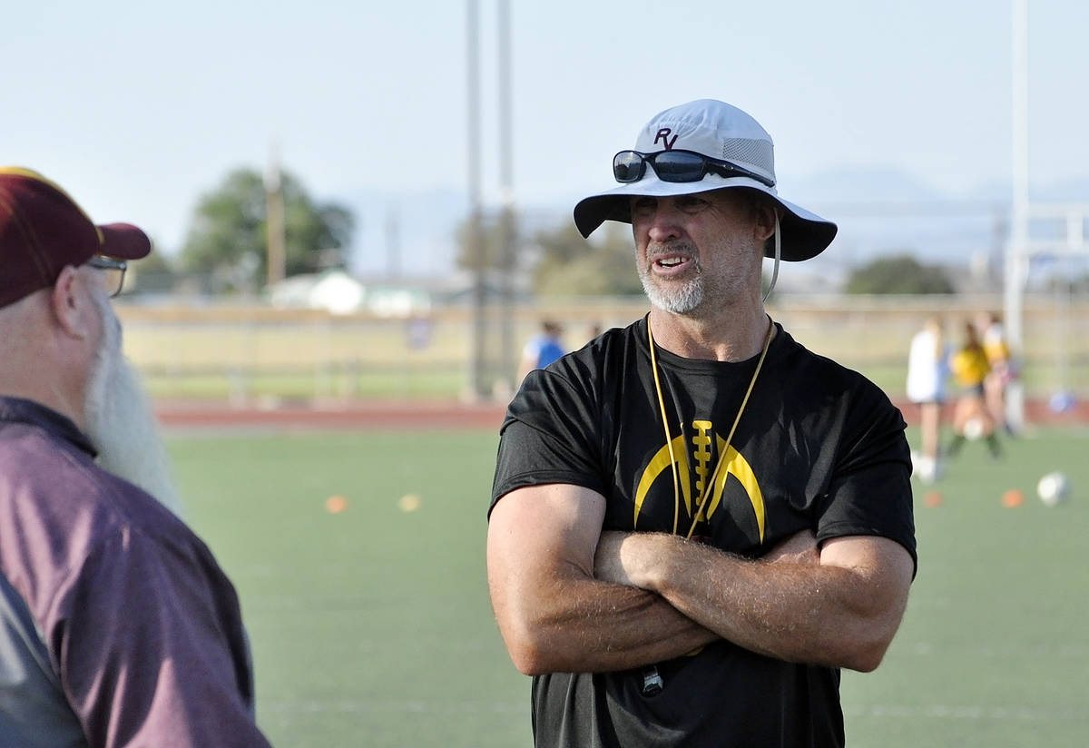 Horace Langford Jr./Pahrump Valley Times With Pahrump Valley High School's girls soccer team go ...