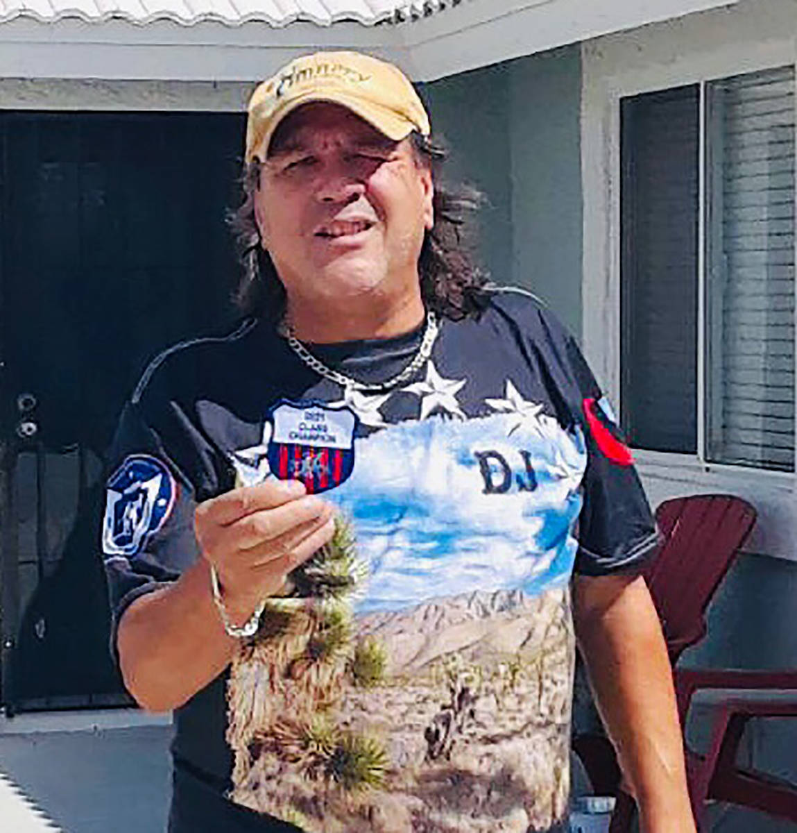 Lathan Dilger/Special to the Pahrump Valley Times DJ Zuloaga of Pahrump went undefeated to capt ...