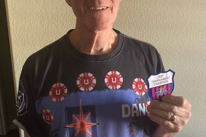 Lathan Dilger/Special to the Pahrump Valley Times Dan Dunn of Las Vegas connected for 66 ringer ...