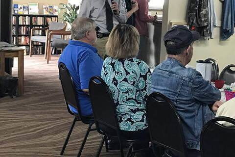 Special to Pahrump Valley Times A look inside the Pahrump Senior Center as shown in a 2017 phot ...