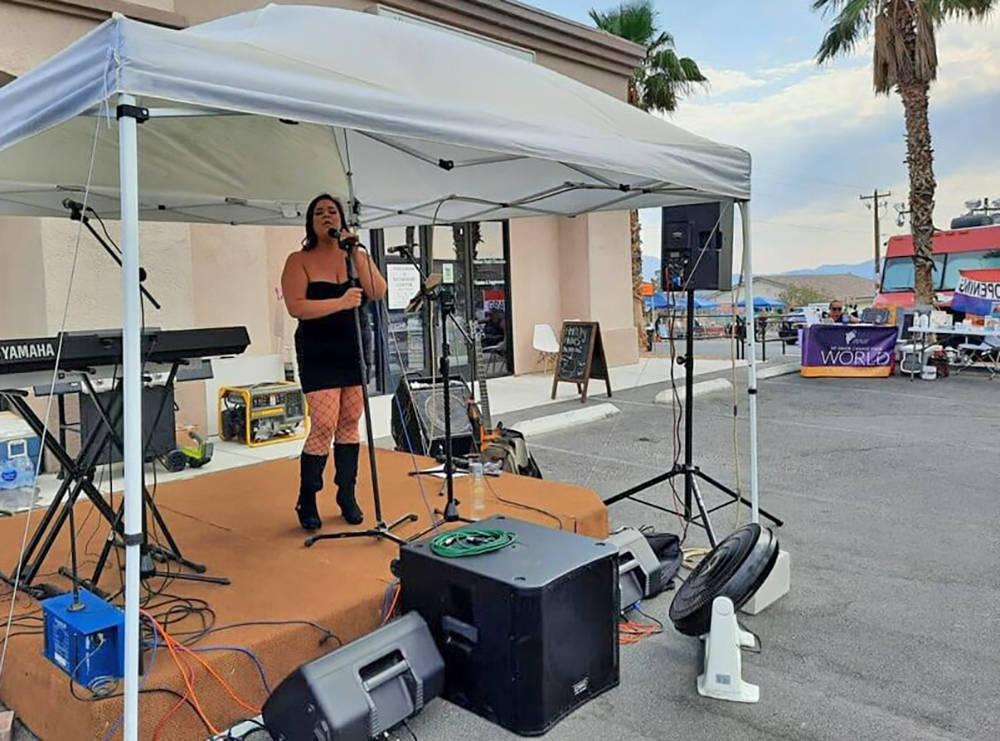 Special to the Pahrump Valley Times Live entertainment was part of the Grand Opening celebratio ...