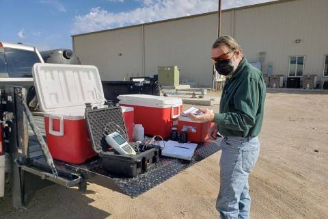 Special to the Pahrump Valley Times The Nye County Tritium Sampling and Monitoring Program has, ...