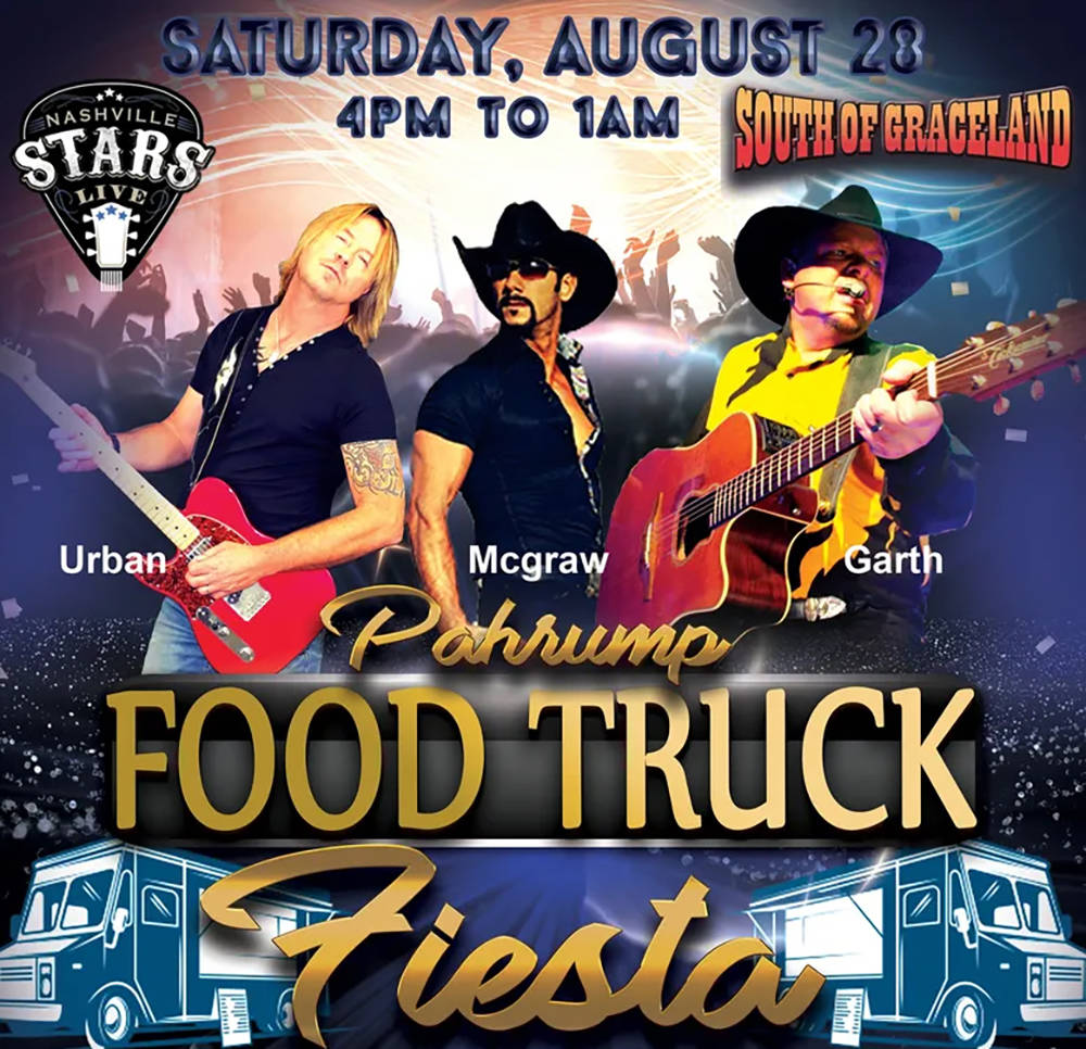 Special to the Pahrump Valley Times The Pahrump Food Truck Festival is set for the last weekend ...
