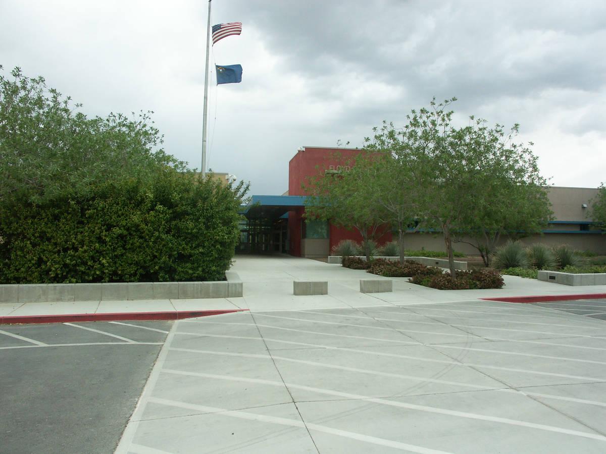 Selwyn Harris/Pahrump Valley Times - Floyd Elementary