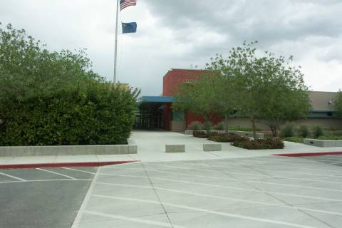 Selwyn Harris/Pahrump Valley Times - Floyd Elementary School