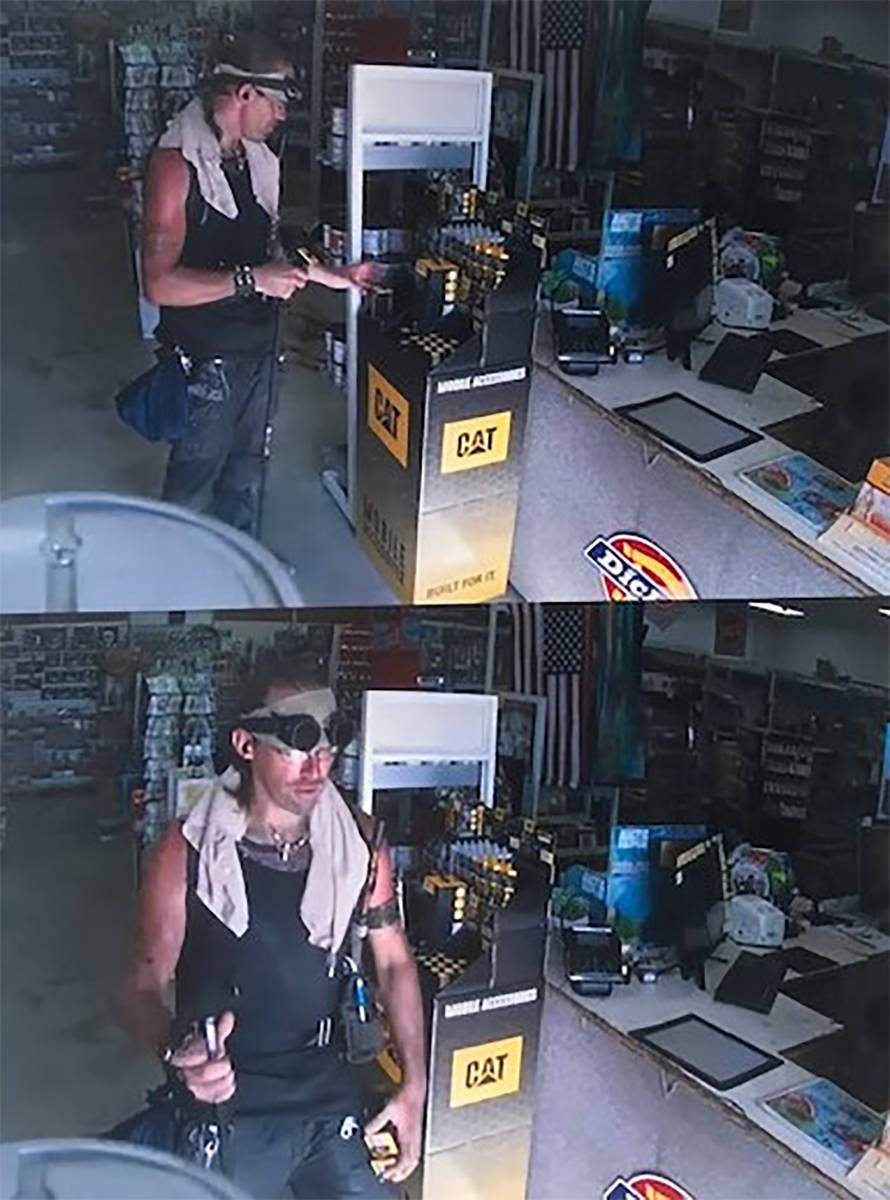 NCSO: Surveillance footage captured the suspect allegedly committing larceny of a local busines ...