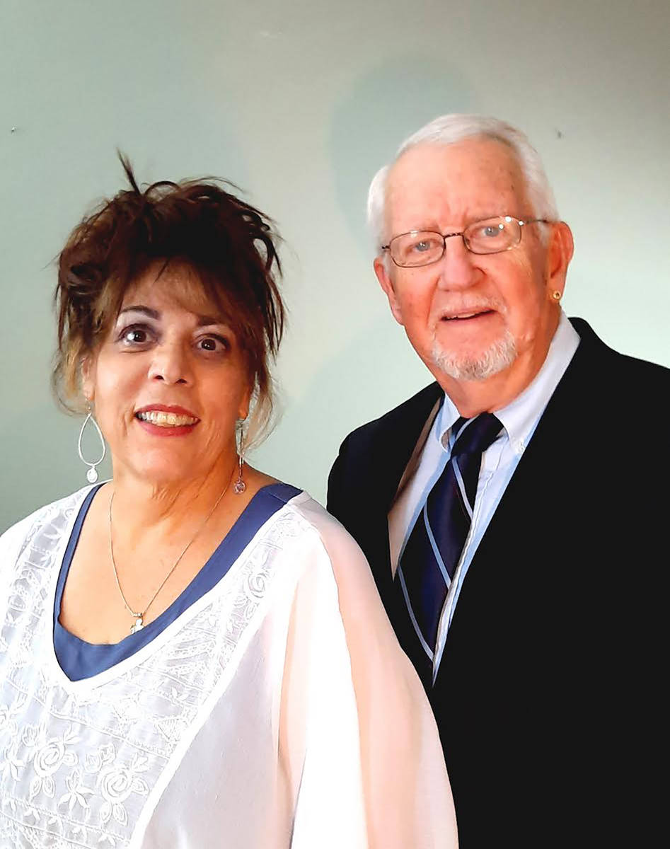 """Special to the Pahrump Valley Times Linda DeMeo and Bill Newyear were the stars of """"Love Letter ..."""