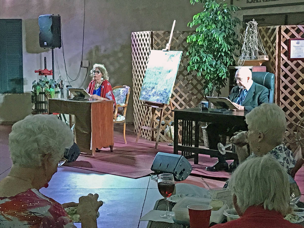 Robin Hebrock/Pahrump Valley Times The Pahrump Valley Lions Club hosted its play fundraiser fea ...