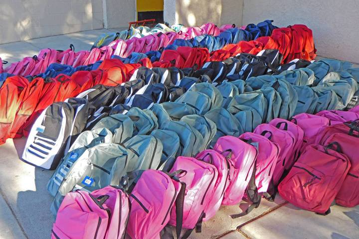 Robin Hebrock/Pahrump Valley Times This file photo from the 2020 Back to School Fair shows the ...
