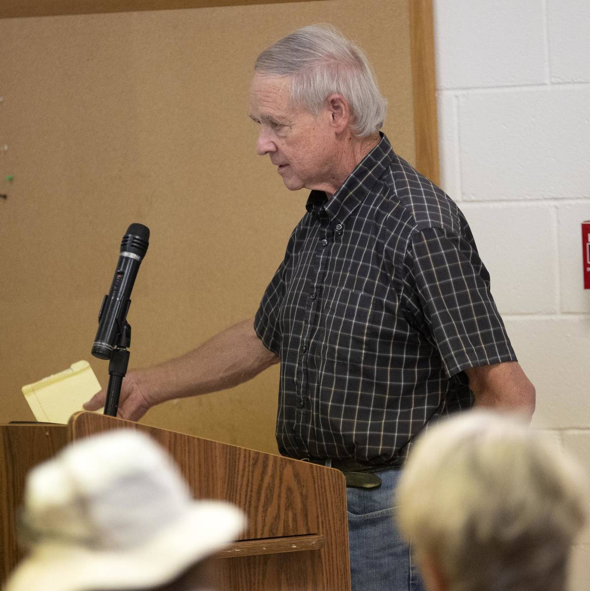 Richard Stephens/Special to the Pahrump Valley Times Albert Verrilli, Beatty Water and Sanitat ...