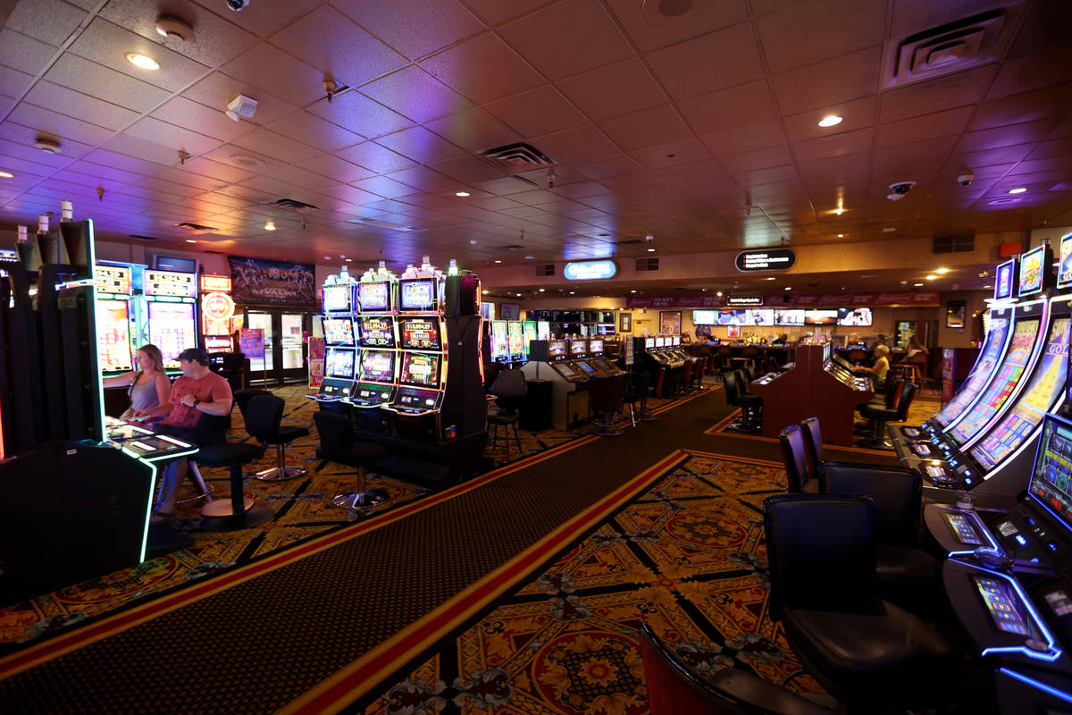 Railroad Pass casino in Henderson Monday, July 26, 2021, ahead of its 90th birthday on Aug. 1. ...