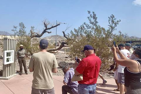 Special to the Pahrump Valley Times Death Valley National Park has waived entrance fees today t ...