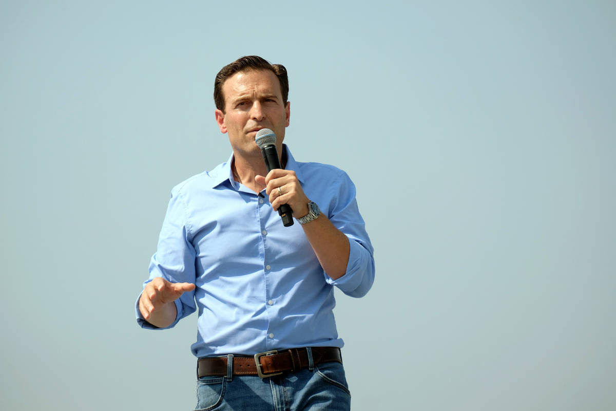 """Adam Laxalt condemned a """"cancerous leftist culture"""" in his remarks to the crowd at the 6th annu ..."""