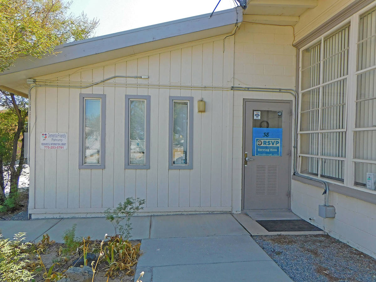 Robin Hebrock/Pahrump Valley Times The RSVP office in Pahrump is located at the NyE Communities ...