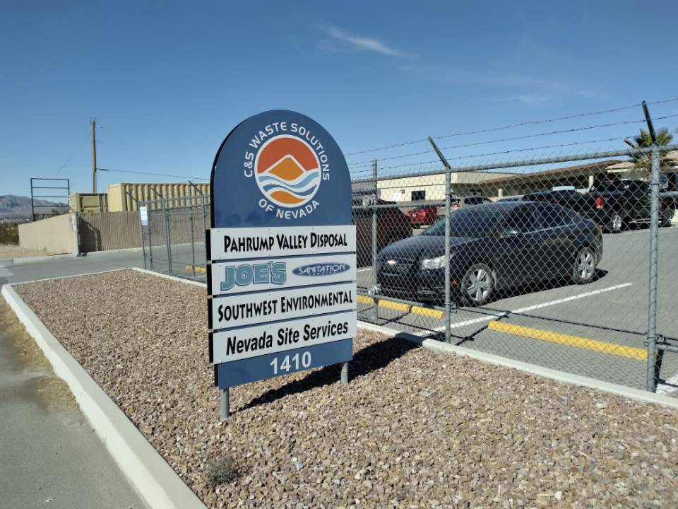 Selwyn Harris/Pahrump Valley Times Pahrump Valley Disposal has been acquired by Waste Connecti ...