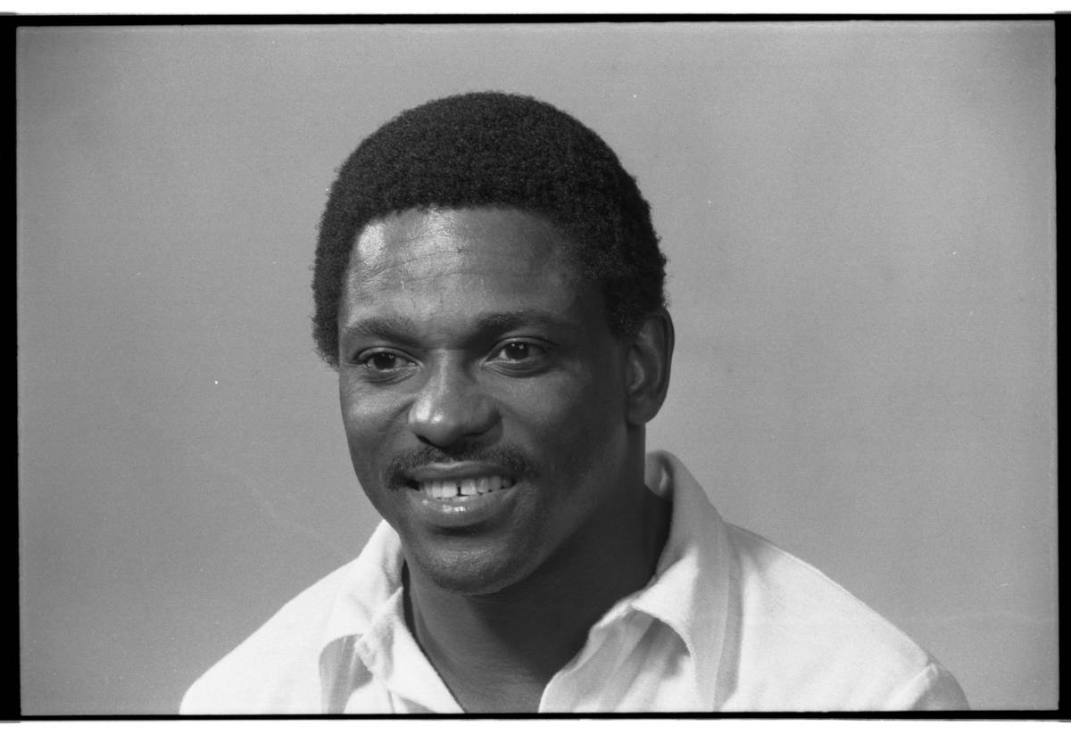 Former Raiders wide receiver Cliff Branch.