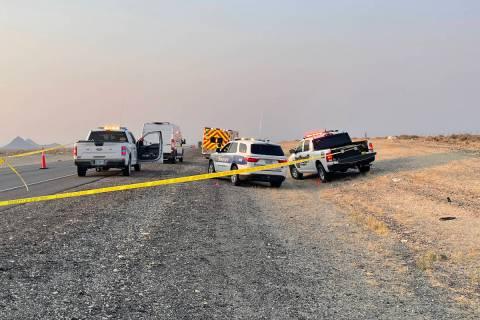 NCSO (Facebook) Nye County Sheriff's Office identified Ingmar Von Strandberg, 30, of Las Vegas ...