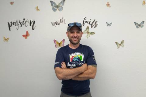 Selwyn Harris/Pahrump Valley Times Occupational Therapy Assistant Thomas Bowen is hosting a gra ...