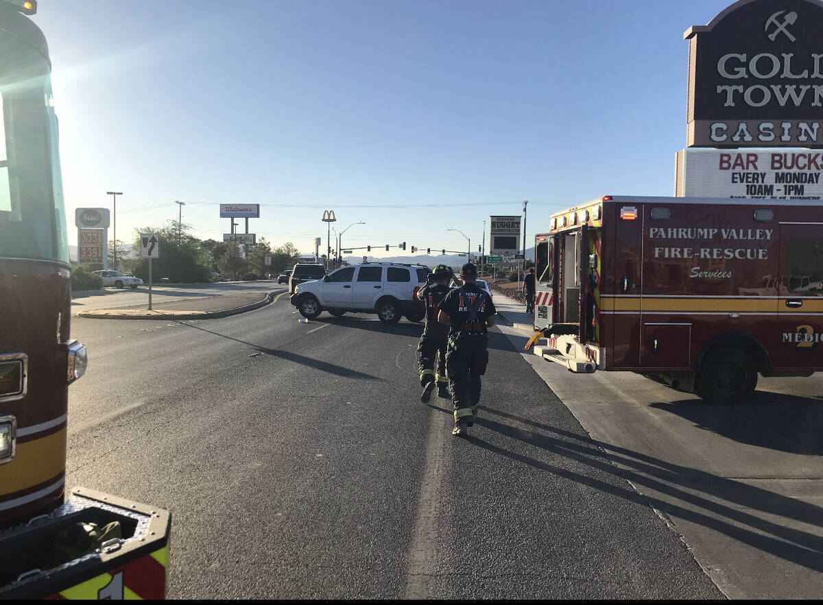 Nye County Sheriff's Office (Facebook) On Friday, Sept. 3, emergency crews were summoned to Hi ...