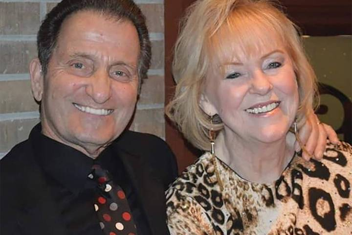 Special to the Pahrump Valley Times Tom Saitta and his wife Alice enjoy a tender moment during ...