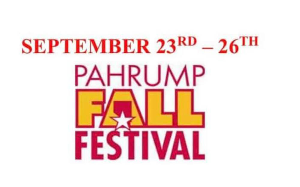 Special to the Pahrump Valley Times The Pahrump Fall Festival, sponsored by the town of Pahrump ...