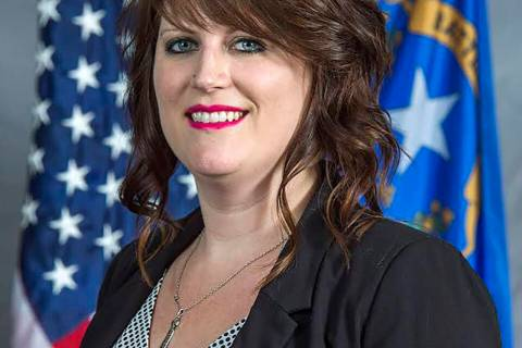 Special to the Pahrump Valley Times Nye County Comptroller Savannah Rucker heads the Nye County ...