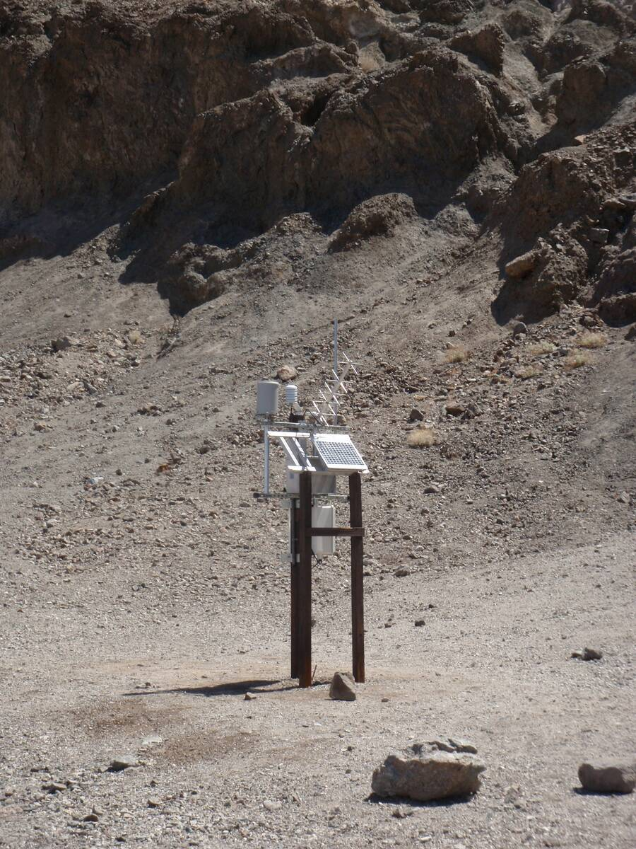 Courtesy/Death Valley National Park The National Park Service and National Weather Service ann ...