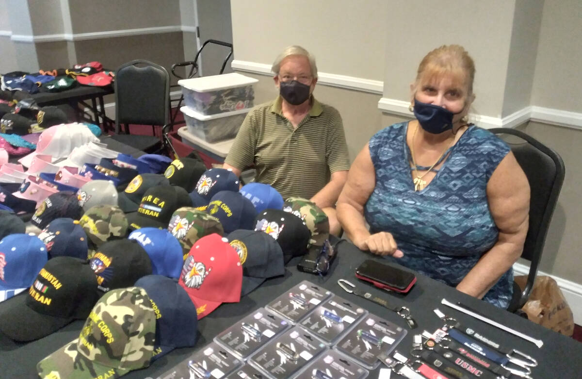 Selwyn Harris/Pahrump Valley Times Expo coordinator Kathy Mills said at least 25 merchants set ...