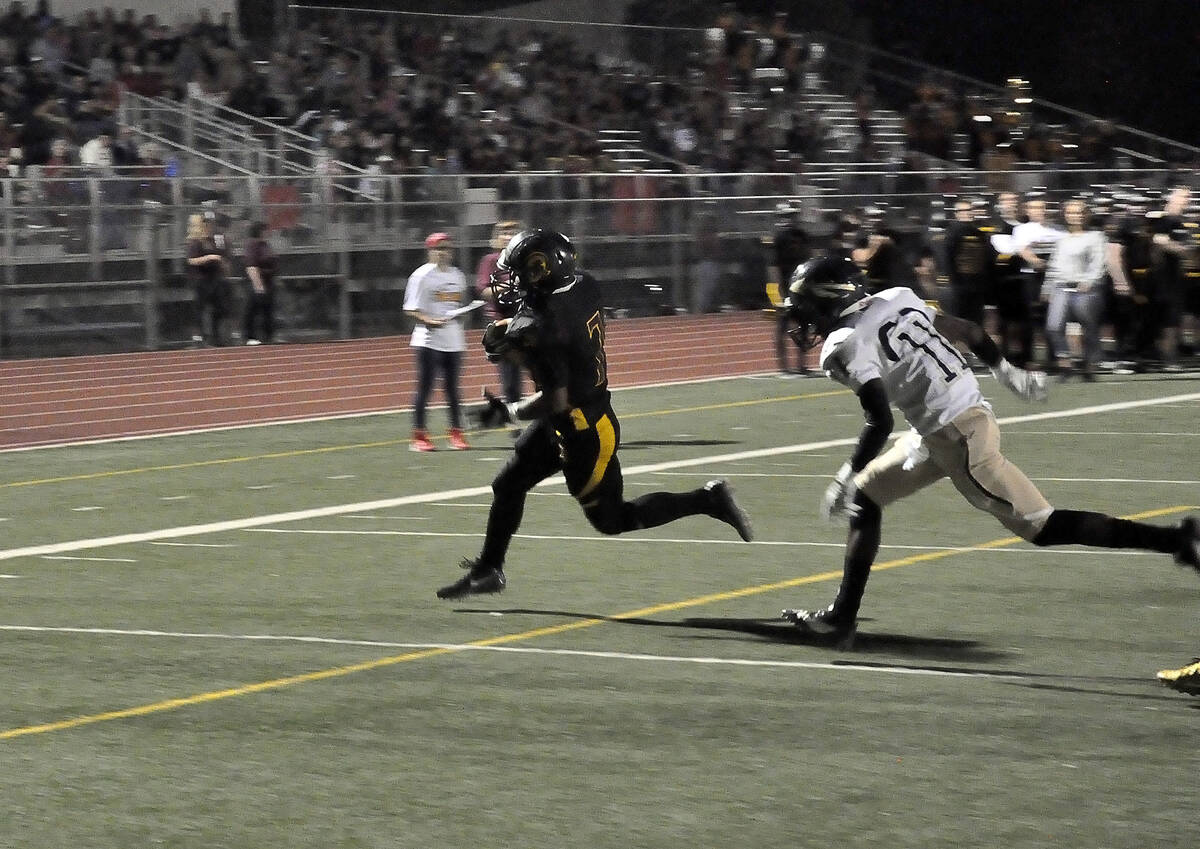 Horace Langford Jr./Pahrump Valley Times The Trojans' next game will be this Friday, Sept. 17 ...