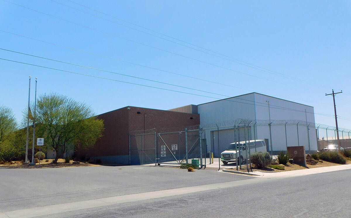 Robin Hebrock/Pahrump Valley Times The Nye County Detention Center in Pahrump will be remodeled ...