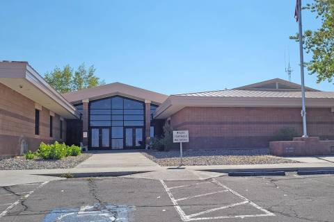 Teresa Martin/Tonopah Times-Bonanza The Nye County Courthouse in Tonopah is located at 101 Rada ...