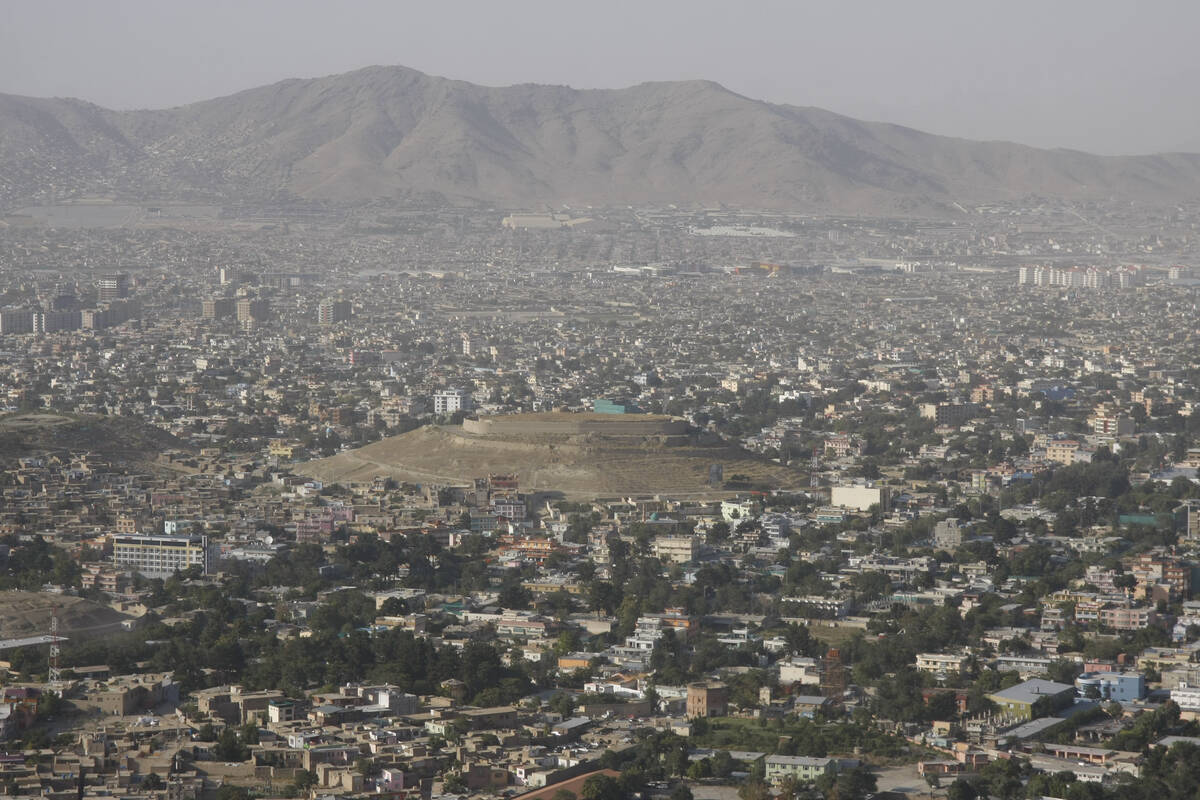 Getty Images View of the Afghan capital city