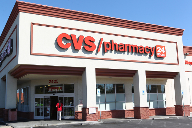 Chase Stevens/Las Vegas Review-Journal CVS Health is planning to hire 300 new people in Nevada ...