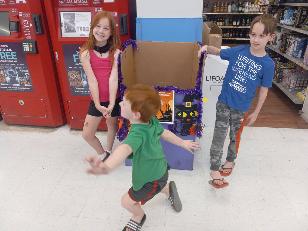 Special to the Pahrump Valley Times From left to right, this photo shows Cayleigh, Conner and C ...