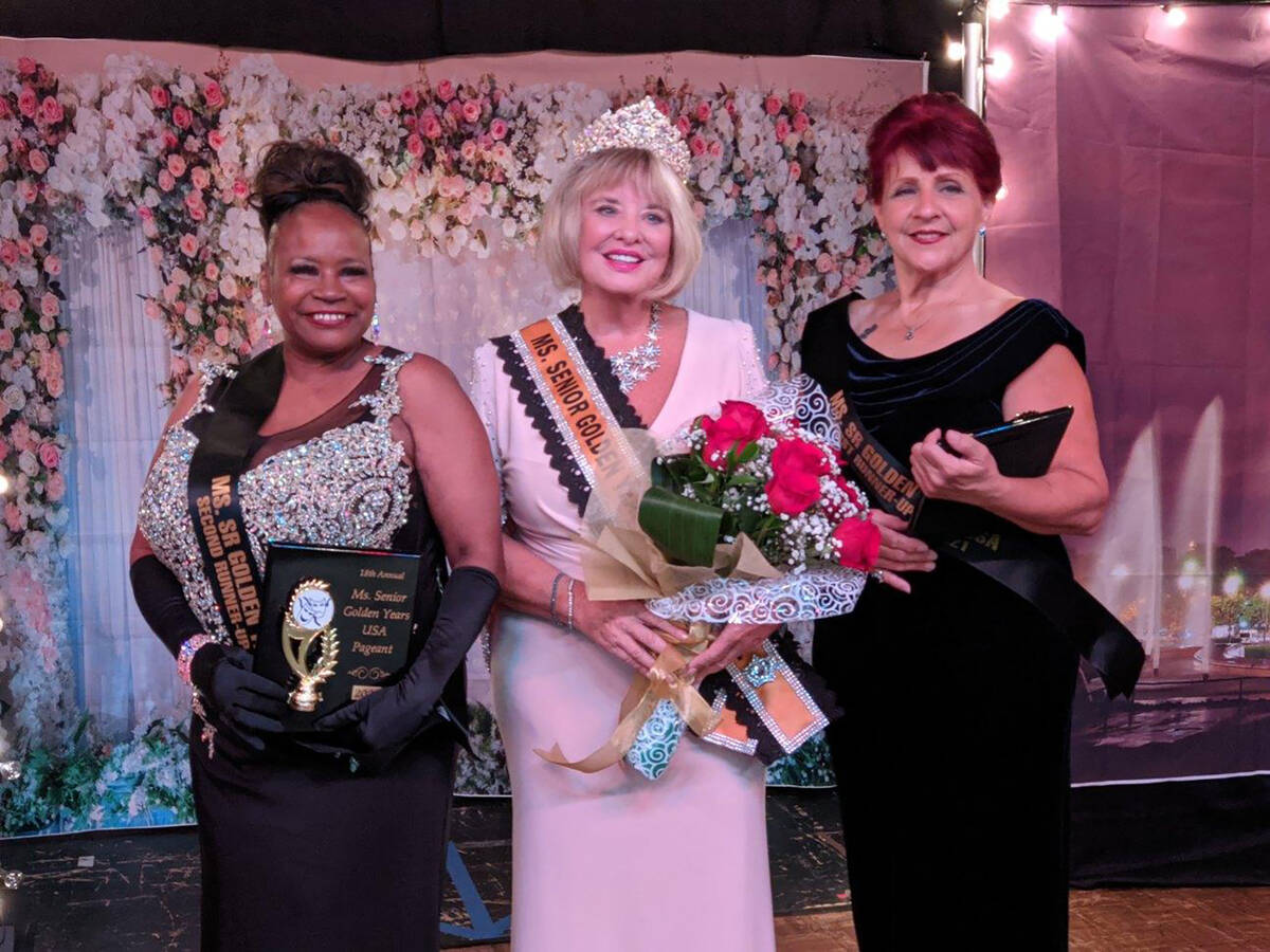 Mark Moore/Special to the Pahrump Valley Times Brenda Fay Bolton, left, earned second-runner-up ...