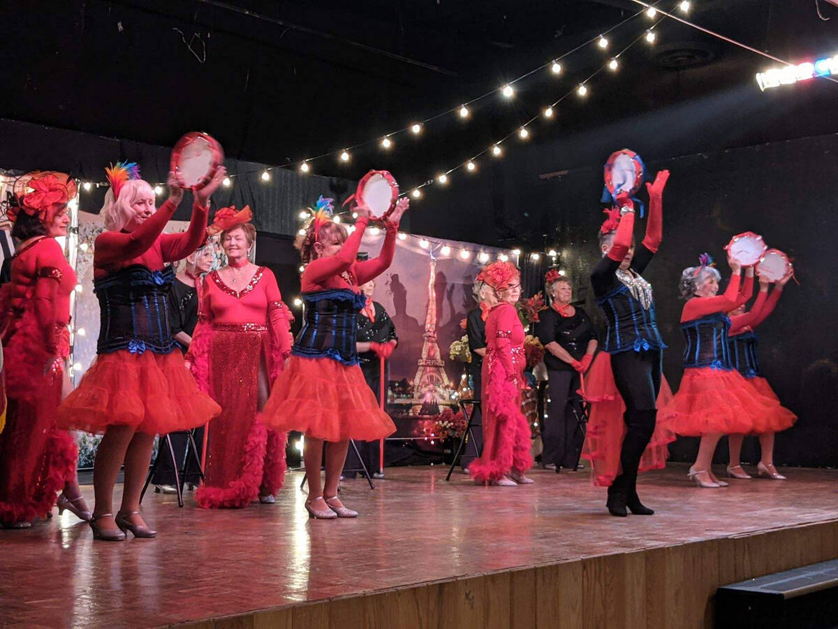 Mark Moore/Special to the Pahrump Valley Times The Nevada Silver Tappers are seen entertaining ...